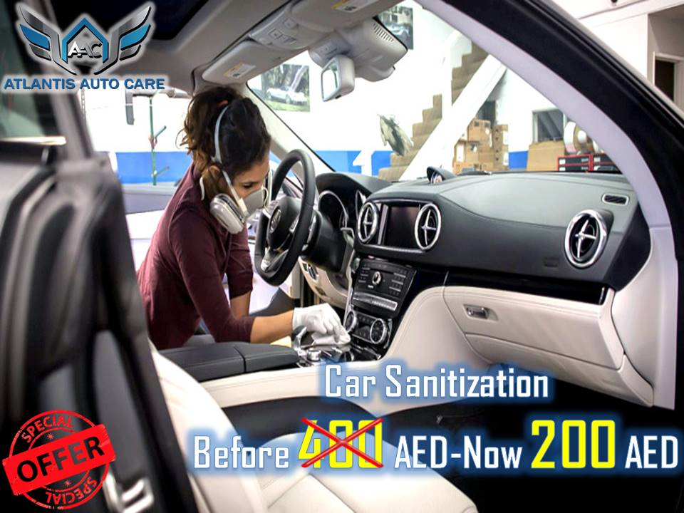 50% off on Car Sanitization @ 200AED