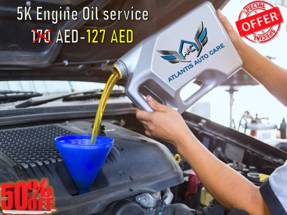 5K Engine Oil Service With 40 Point Check