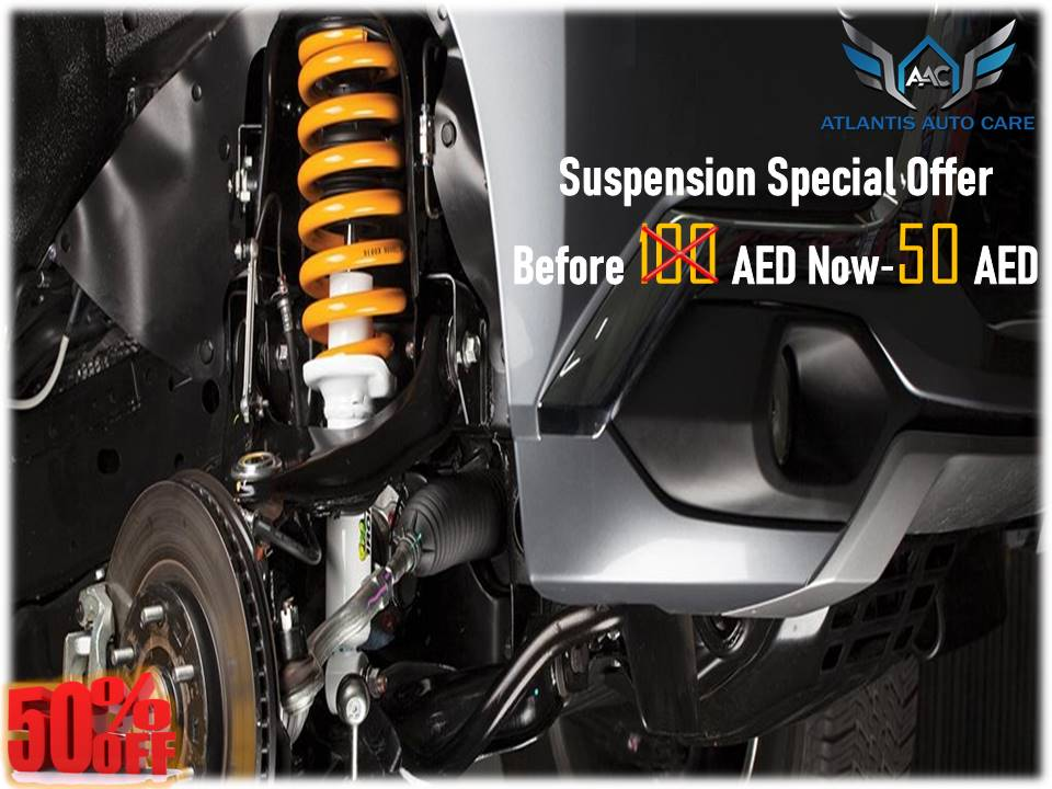 25% Off on Suspension Service